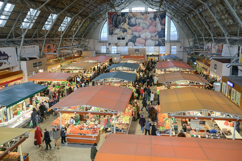 Image result for riga central market