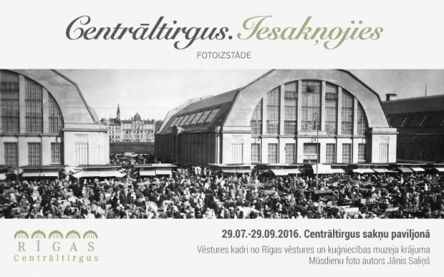 """Riga Central Market will host a photography exhibition """"The Central Market. Deeply rooted""""."""
