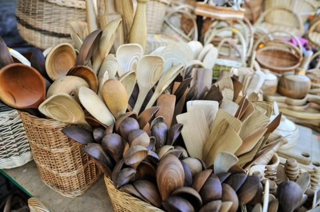 Praktiskais atradums Centrāltirgū – kokgriezumi