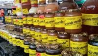 Salds medus piedāvājums Rīgas Centrāltirgū