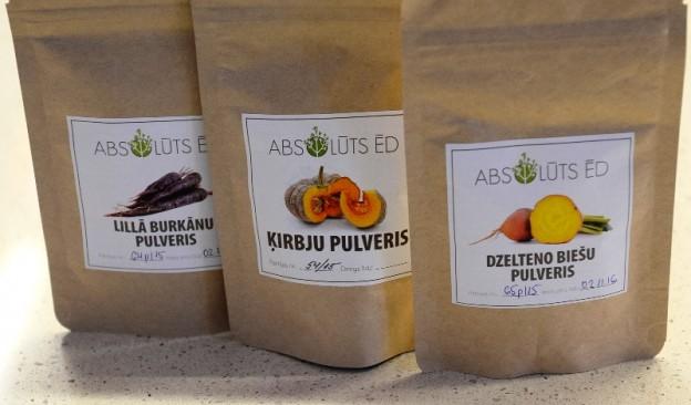 Atradums Centrāltirgū: dārzeņu pulveri