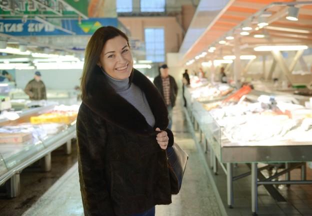 Jevgēnija Ļisicina: Esmu iemīlējusies zivju paviljonā