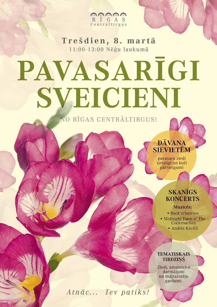 Rigas Centraltirgus 8 marts