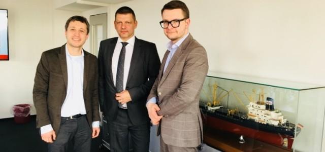 Визит делегации Центрального рынка и Рижской думы в Гамбург