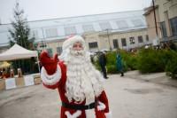 Предрождественские празднования на Рижском Центральном рынке