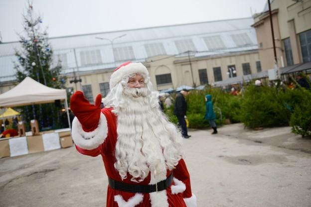 Рождественская ярмарка в молочном павильоне Рижского Центрального рынка