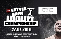 """На Рижском Центральном рынке пройдет  """"Latvia Open Log-lift Championship""""!"""